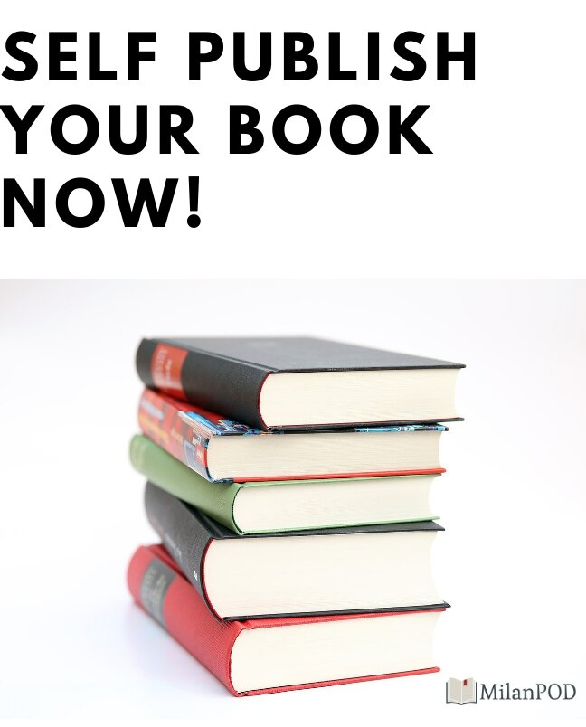 Self publish your books now